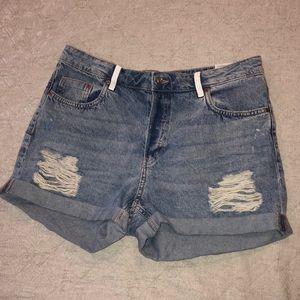 High waisted shorts 🐋